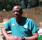 WCS Congo Veterinarian Alain Ondzie: Training in France